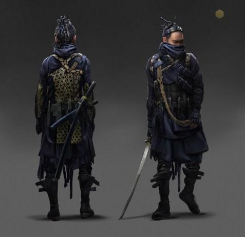 Eddie Mendoza - Cyber Samurai