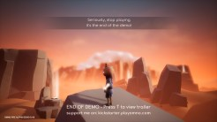 OMNO - Tech-Demo Ende (Hinweis)