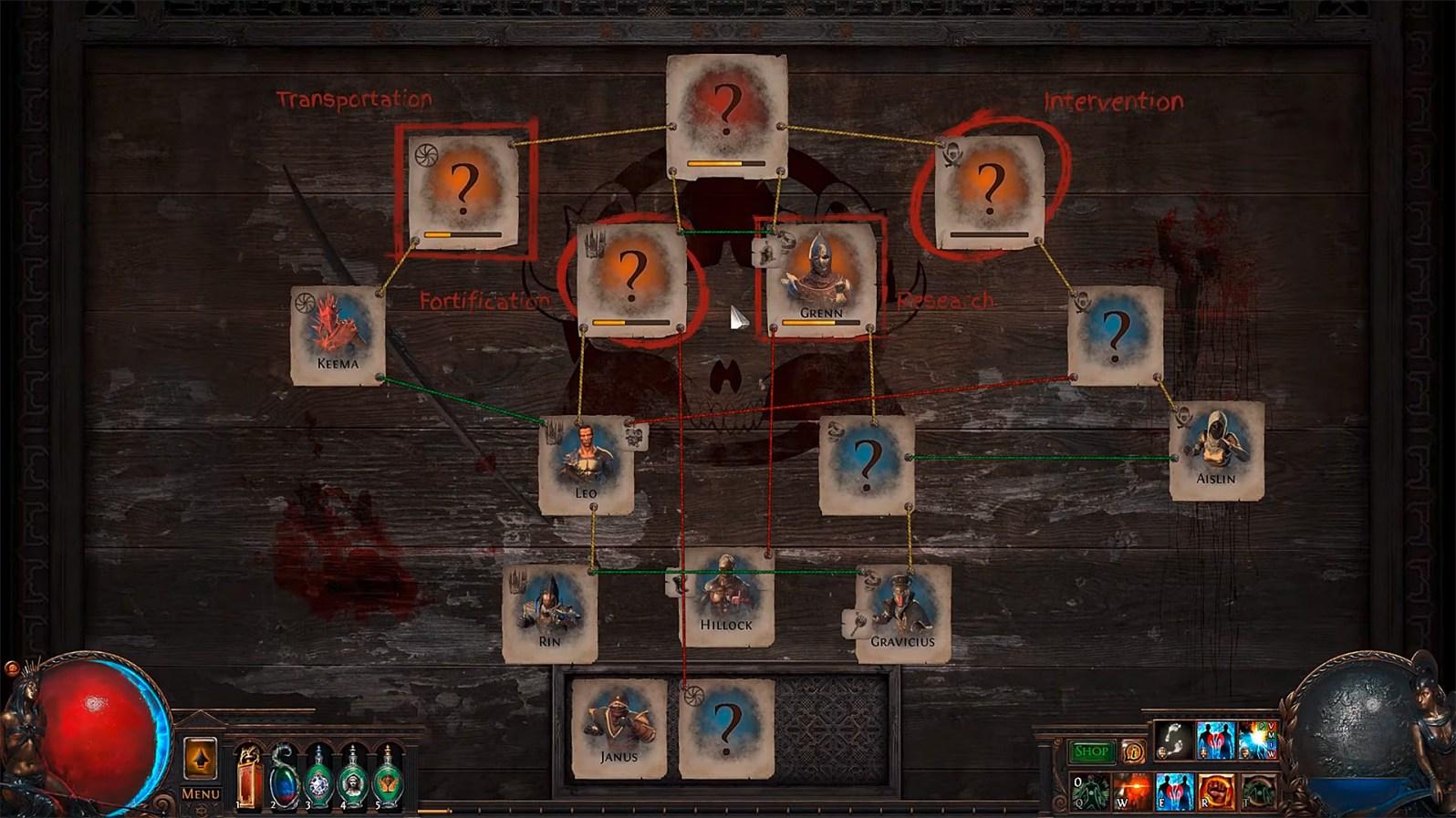 Path of Exile: Betrayal - Das Syndikat