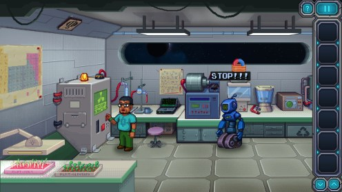 Quelle: Steam - Odysseus Kosmos and his Robot Quest: Episode 1