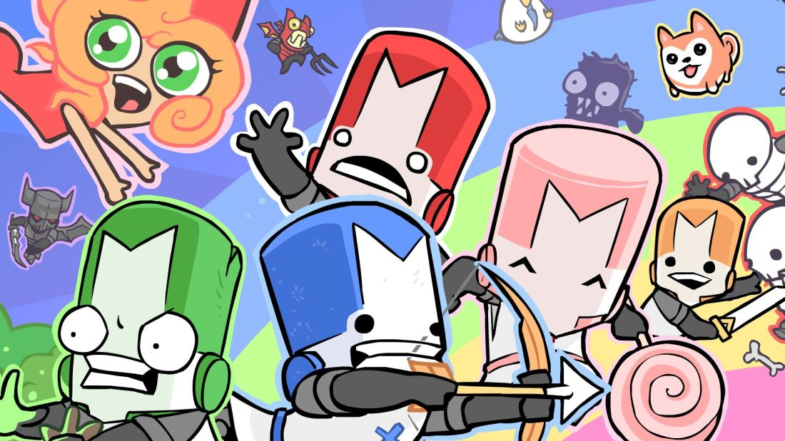 Quelle: castlecrashers.com - Castle Crashers Remastered (Artwork)