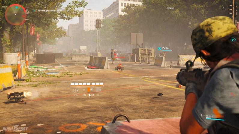 Tom Clancy's The-Division 2 (CB) - Vorsicht Explosiv! Die neuen ferngesteuerten Autos der Gegner sind nicht zu unterschätzen.