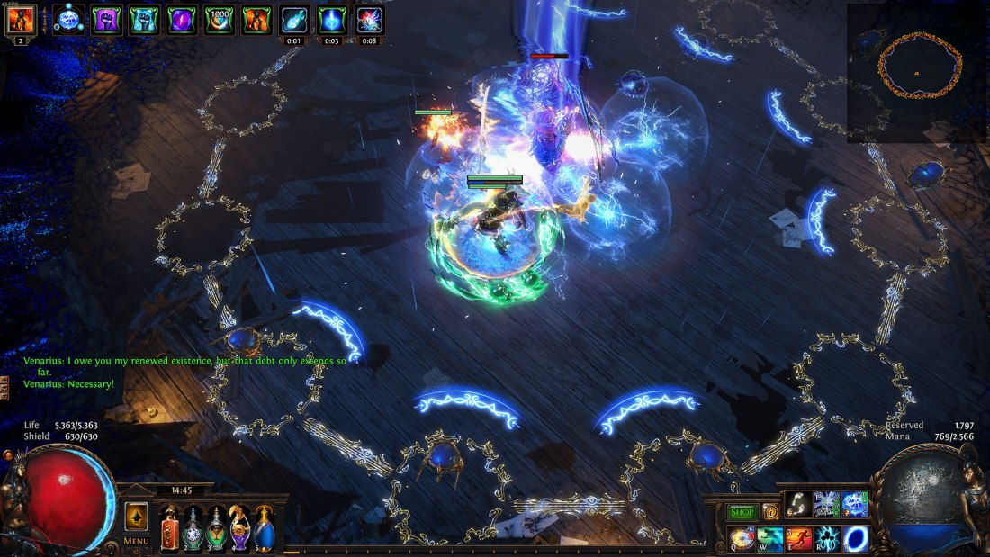 Path of Exile - Synthesis League - Boss: Venarius