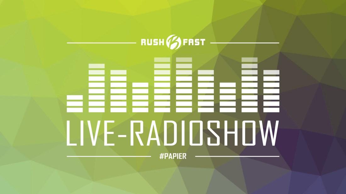 rush'B'fast - Gamers Lifestyle - Radioshow bei ZuSa - 27/04/2019