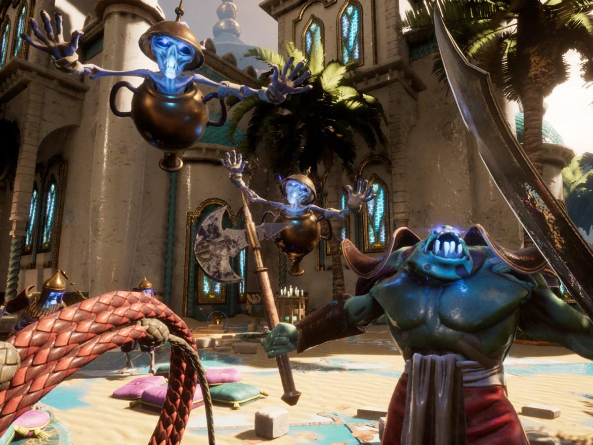 Quelle: Uppercut Games - City of Brass - Mit Peitsche und Schwert gegen die bösen Geister.