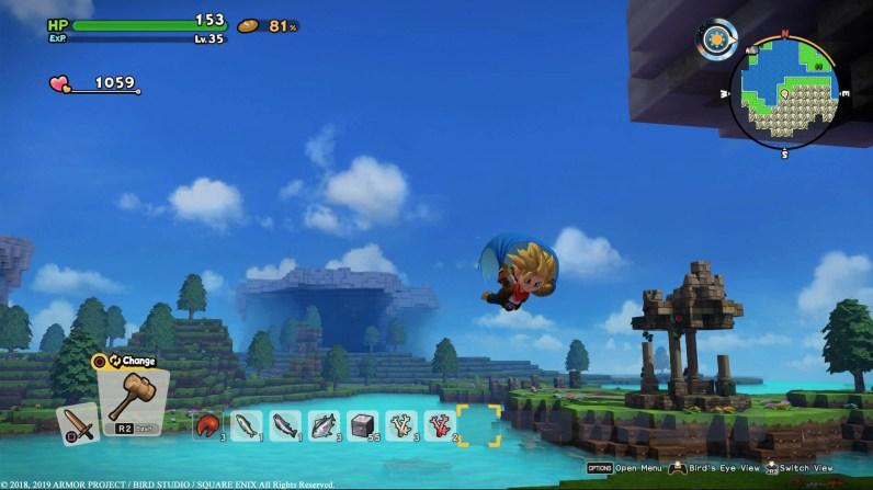 Quelle: Square Enix - Dragon Quest Builders 2 - Gleiten wie ein Vogel