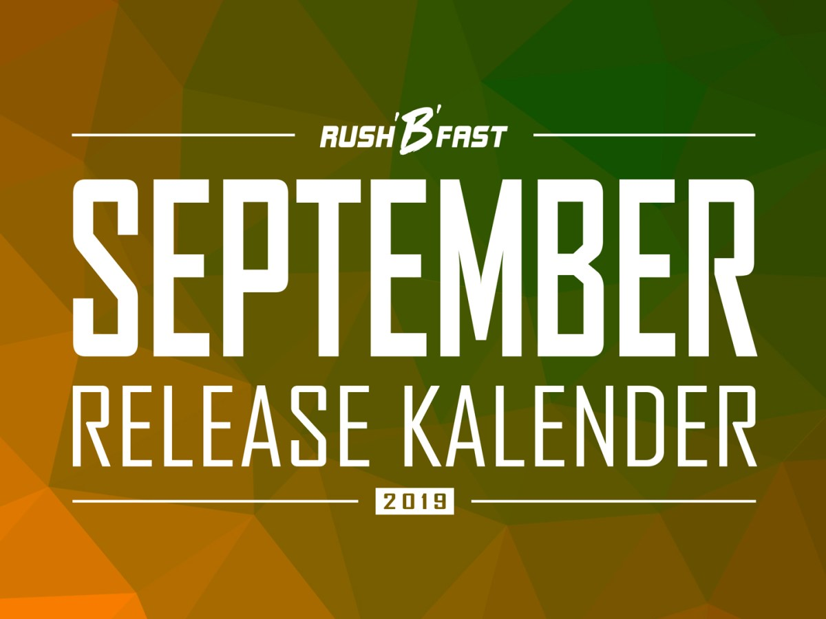 rush'B'fast - Game-Release-Kalender: September 2019