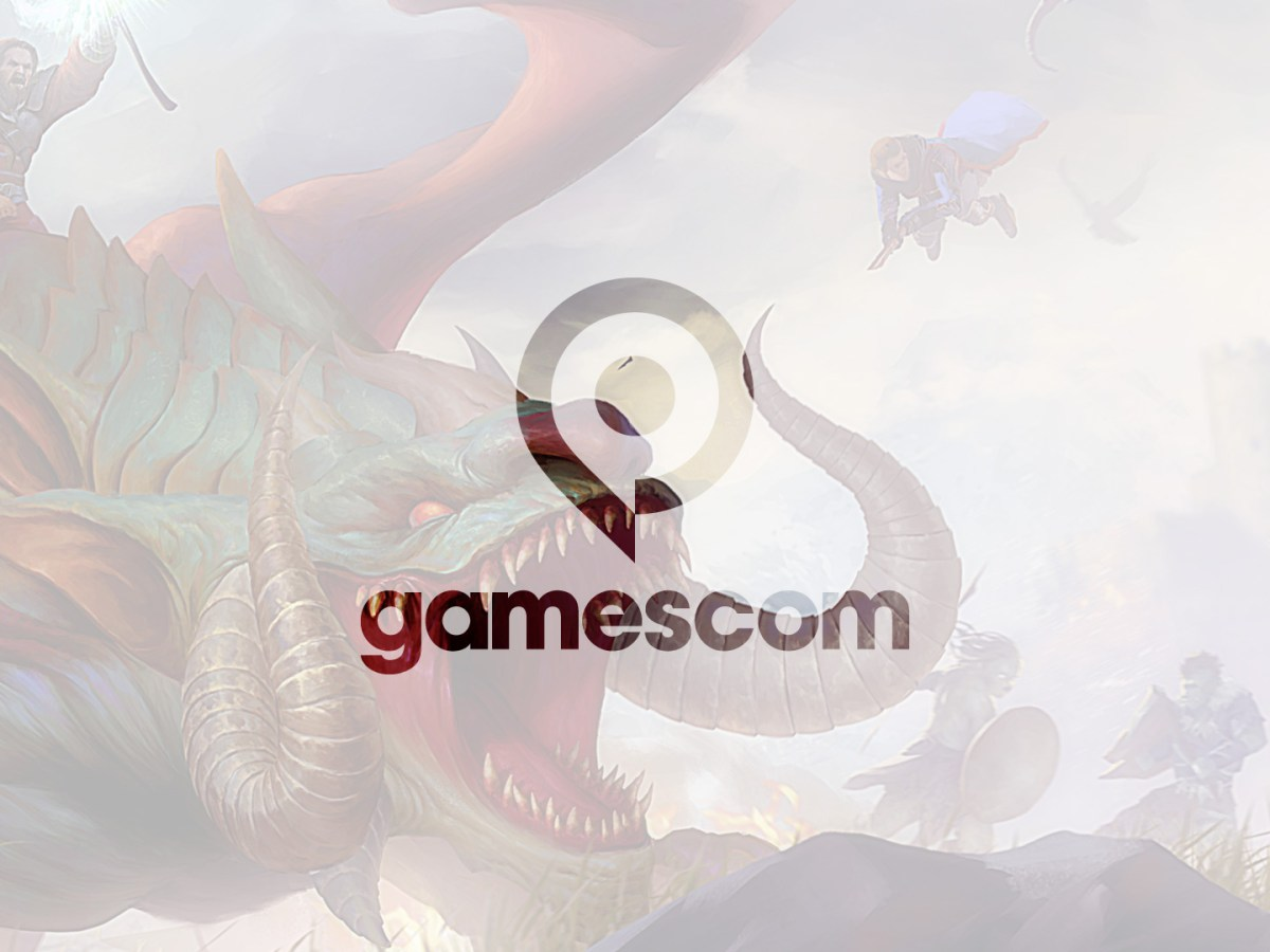 Quelle: Logo gamescom (Messe Köln) / Artwork Blue Isle Studios