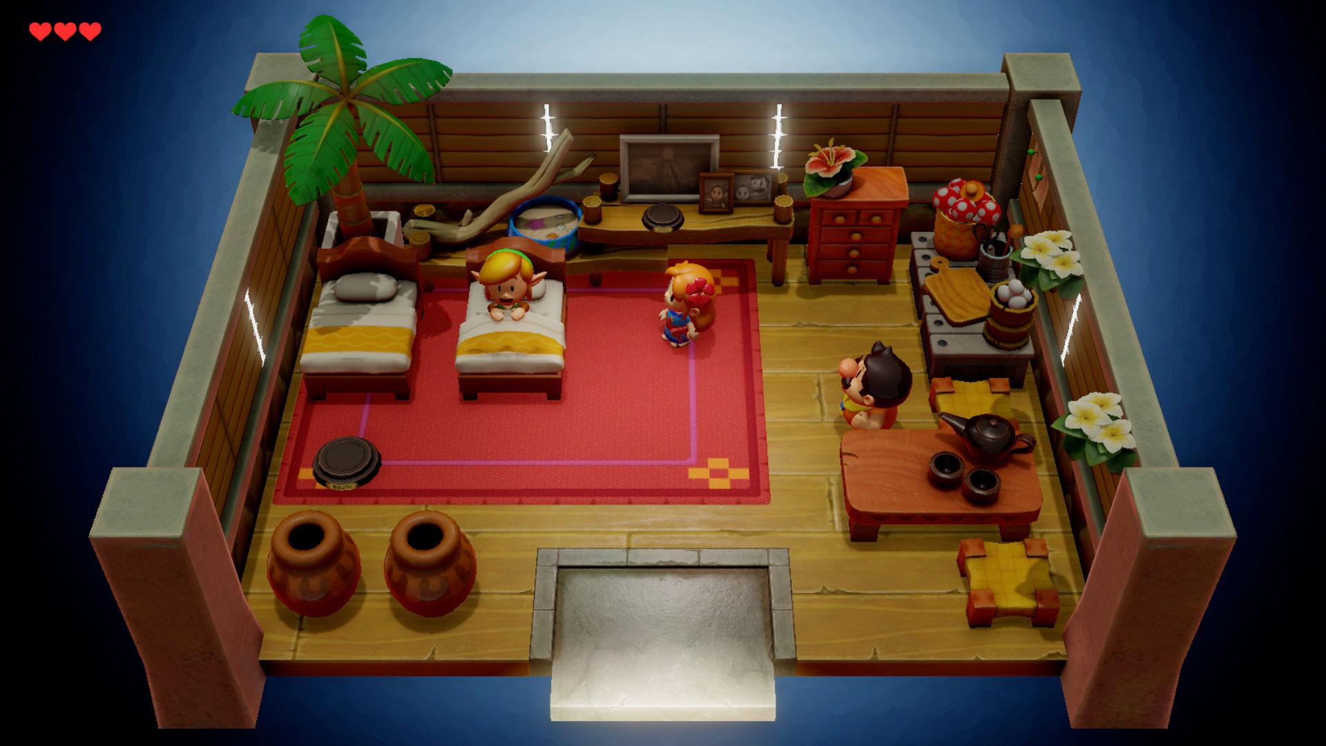 Die Einrichtungen der Räume auf der Insel Cocolint sind wunderschön ausgearbeitet.