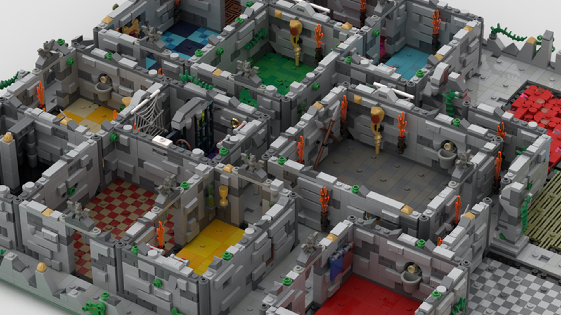 Quelle: LEGO IDEAS - Hero Quest - Optionale Mauern