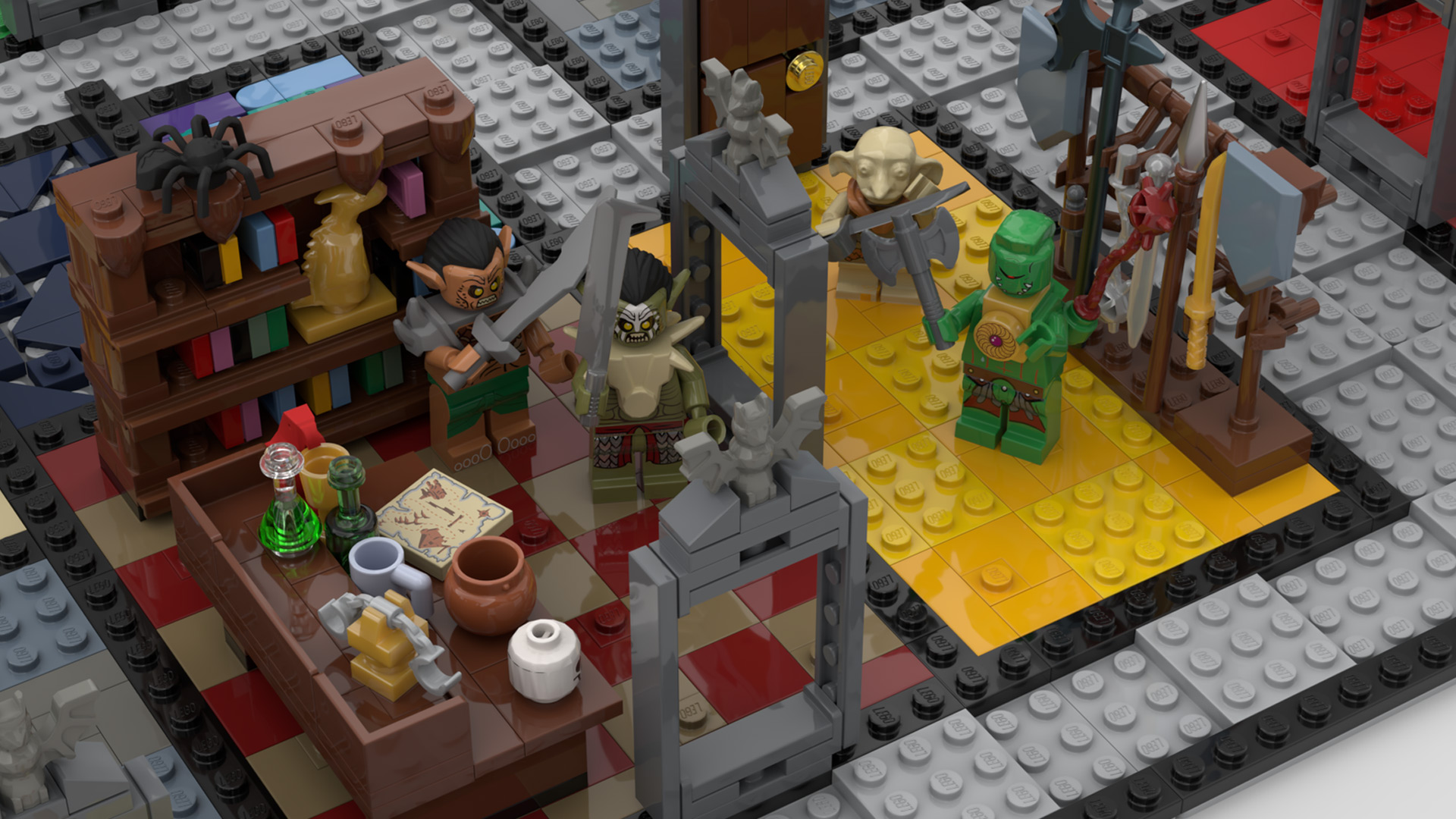 Quelle: LEGO IDEAS - Hero Quest - Räume im Detail