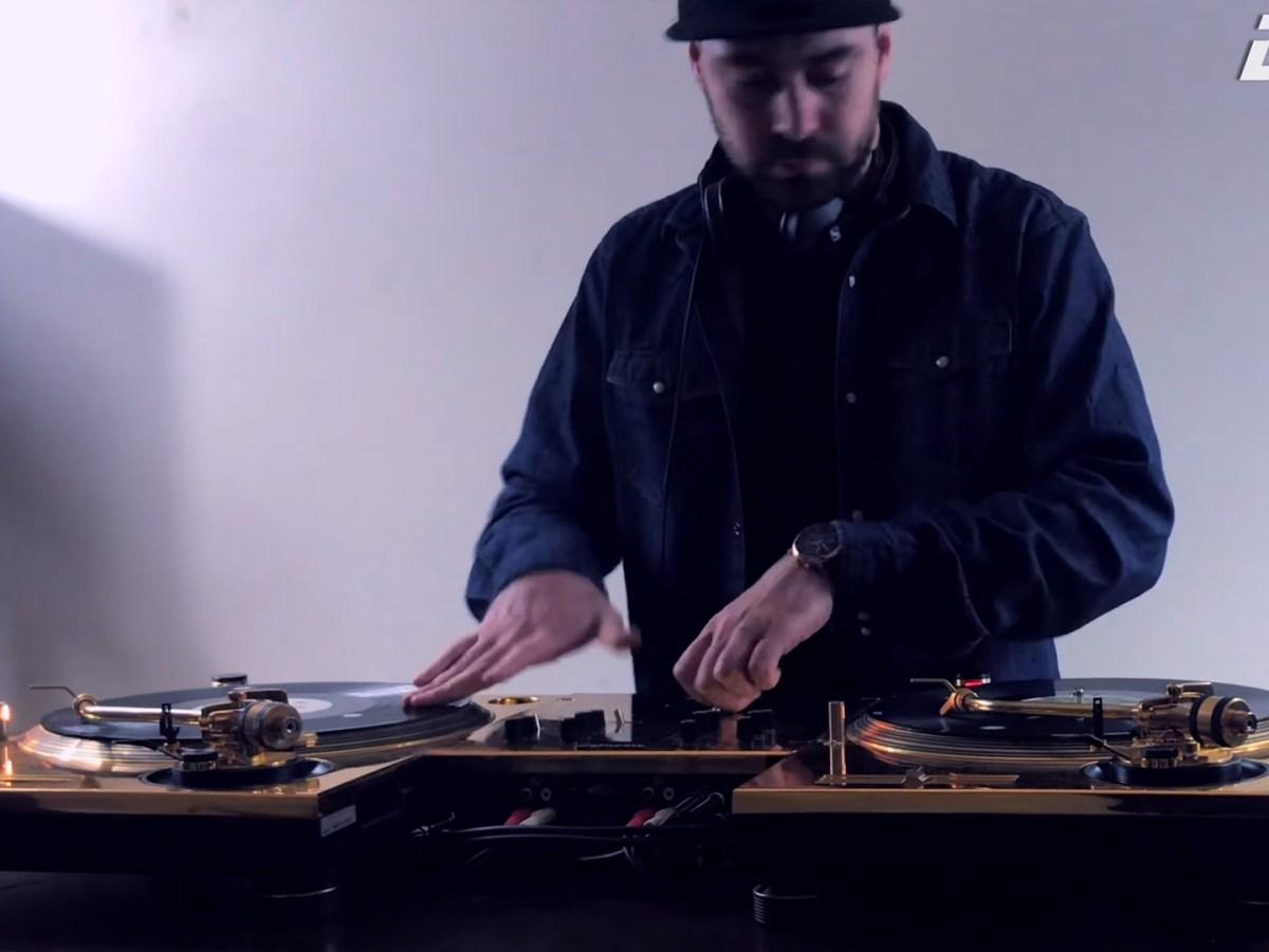 Quelle: Youtube - DJ FLY - The Golden Hip Hop Mix (Full Vinyl Set)