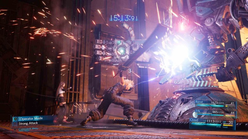 Quelle: Square Enix - Final Fantasy 7 Remake - Operator-Mode