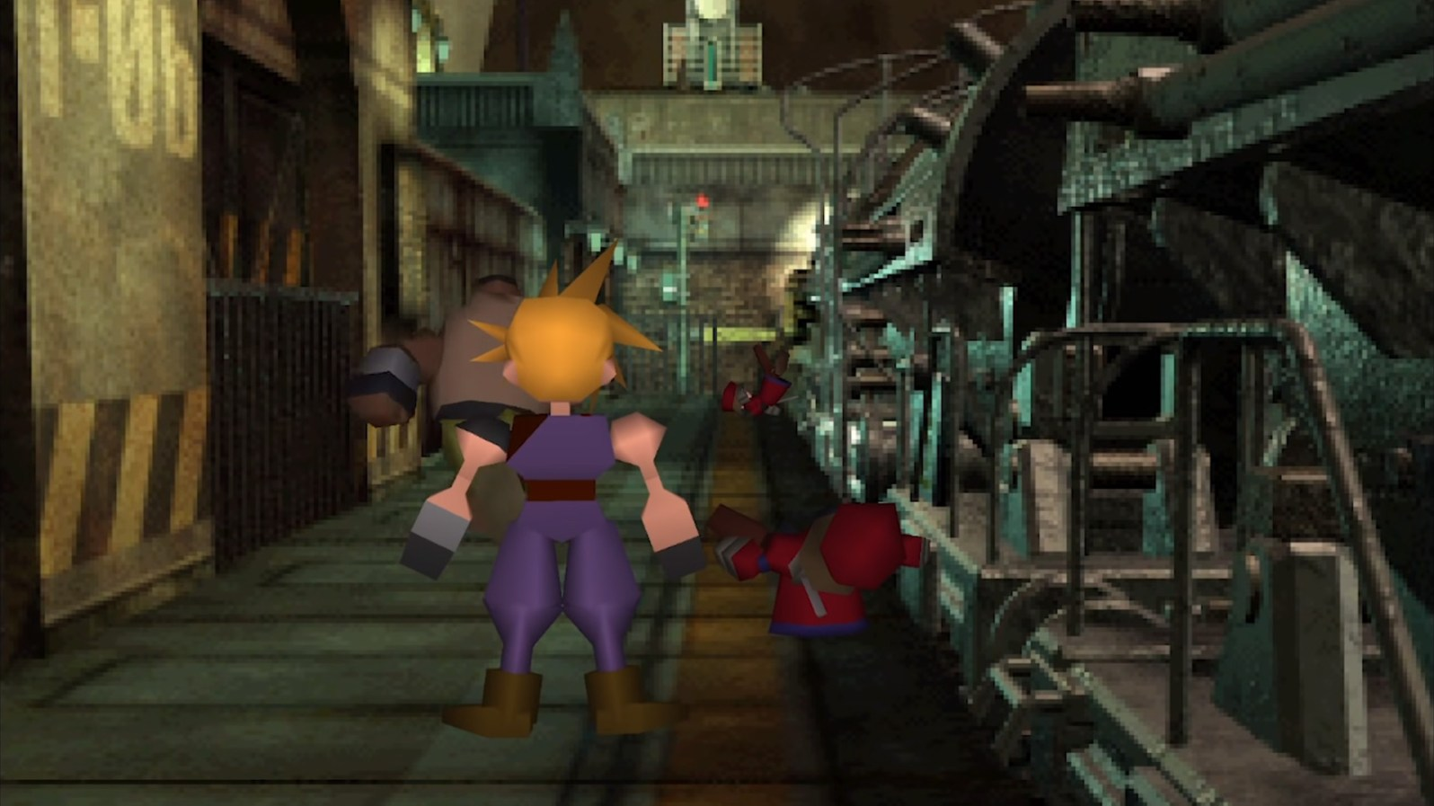 Quelle: Square Enix - Final Fantasy 7 (Zugszene)