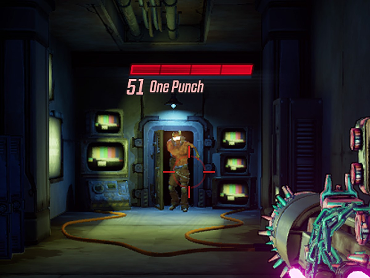 One Punch macht seinem Namen alle Ehre, denn wenn ihr nicht schnell genug seid ihn umzunieten, dann müsst Ihr den weiten Weg erneut laufen.
