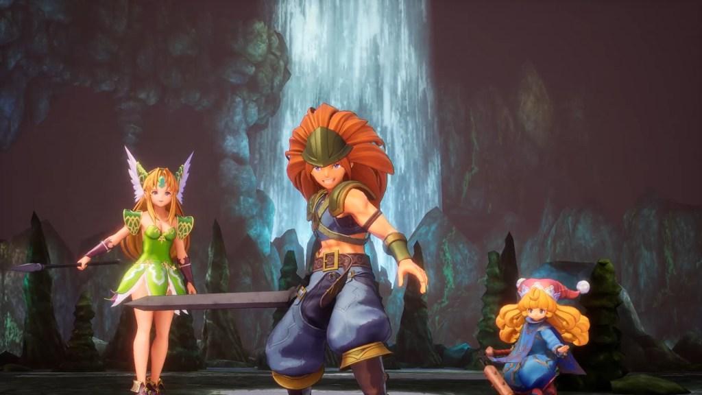 Quelle: Square Enix - Im späteren Spielverlauf sind wir immer in einer Gruppe aus drei Charakteren unterwegs.