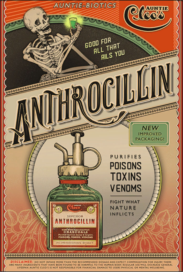 The Outer Worlds - Anthrocillin