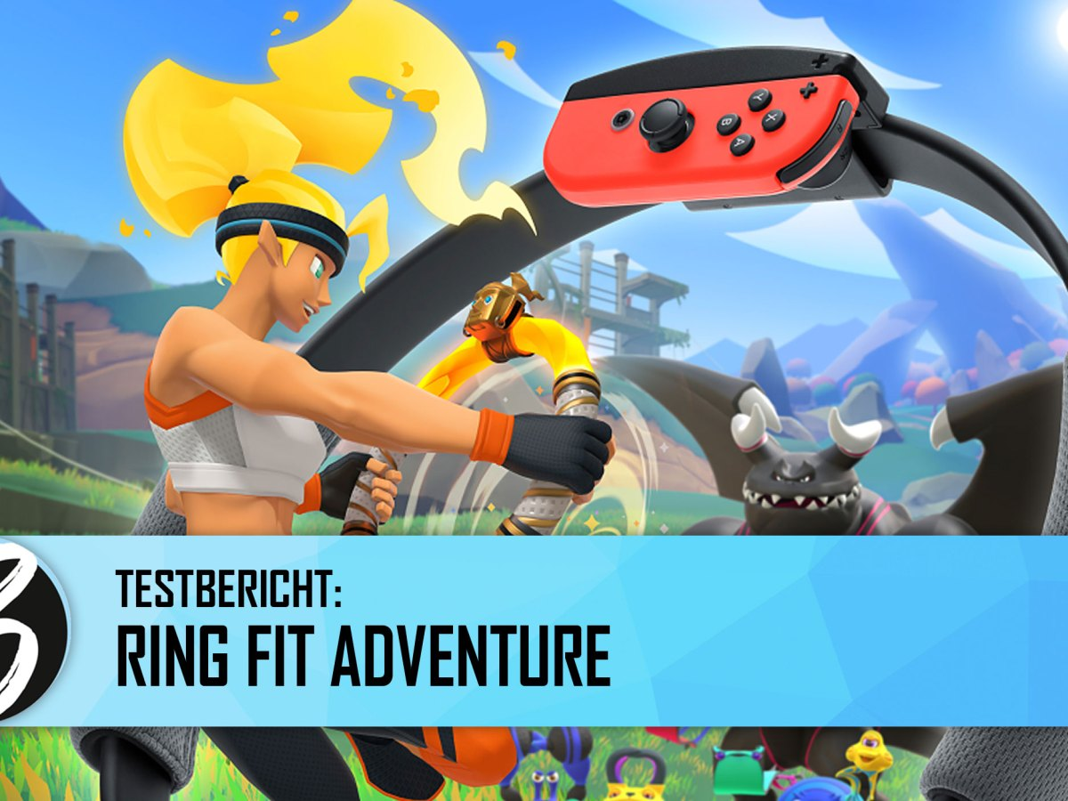 Quelle: Nintendo - Test: Ring Fit Adventure - Jean Reiner Jung