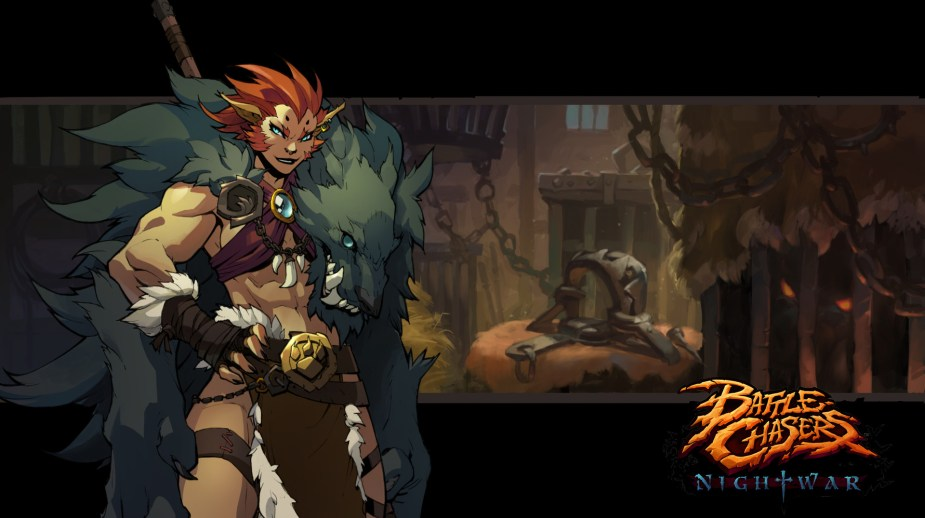 Quelle: artstation - Grace Liu - Battle Chasers: Nightwar (bc-vendorbg-beast)