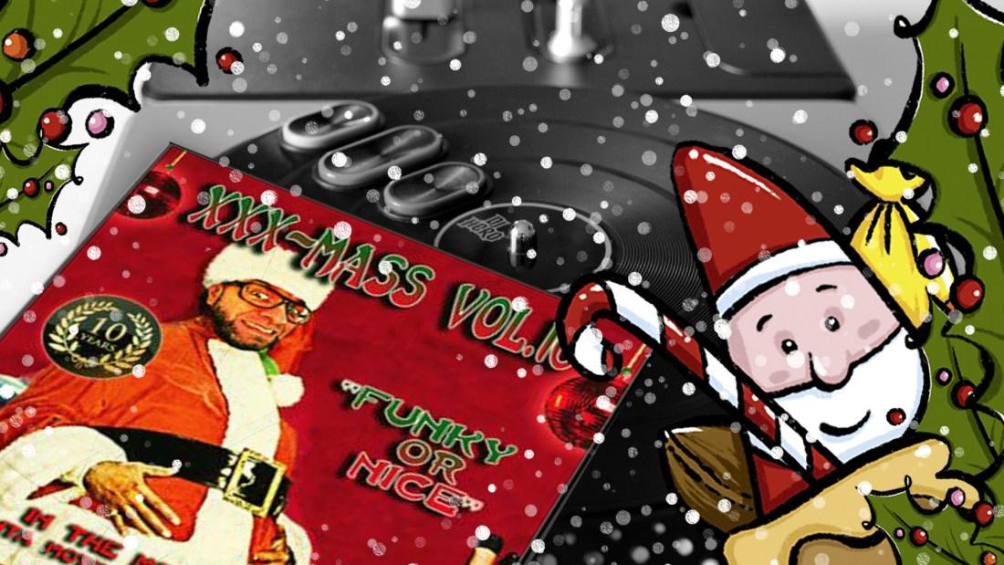 Foto: rush'B'fast, Plattencover: Funky Santa/mixcloud, Illustration: oasentier