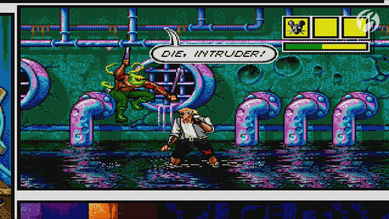 Comix Zone - Heute immer noch ein faszinierender Titel mit außergewöhnlichem Gameplay.