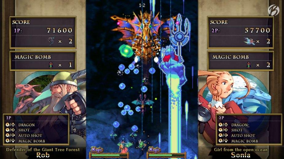 Spezialangriffe mit Stil - Dragon Blaze hat die beste Präsentation der Kollektion.