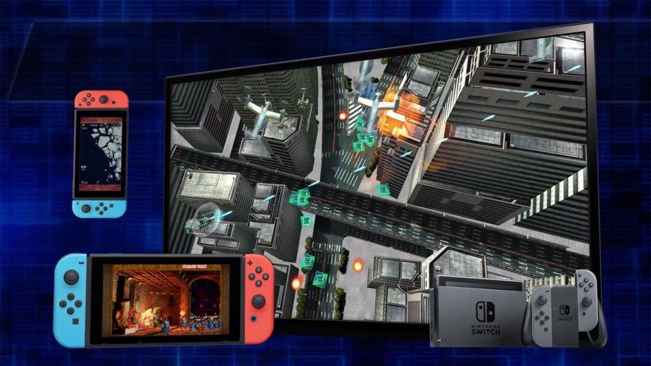 Psikyo Shooting Stars Alpha - Nintendo Switch Modi: Hoch- und Querformat