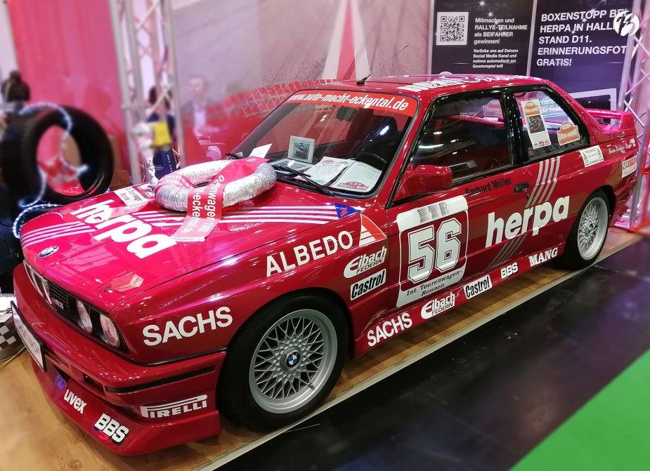 Live und in echt! Herpa BMW M3 Gerhard Müller aus dem Jahr 1989.
