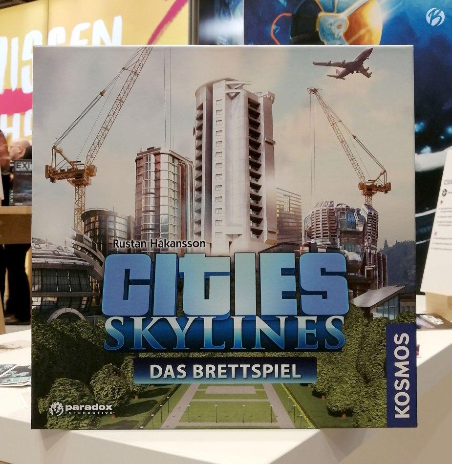 Cities Skylines als Brettspiel, das muss ich mir demnächst mal genauer ansehen.