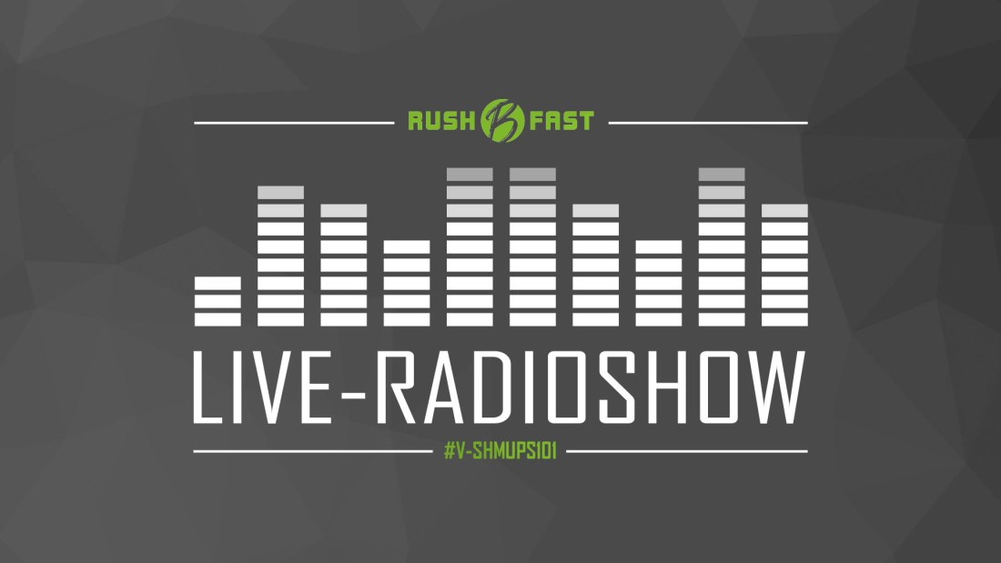 rush'B'fast - Gamers Lifestyle - Radioshow bei ZuSa - 01/02/2020