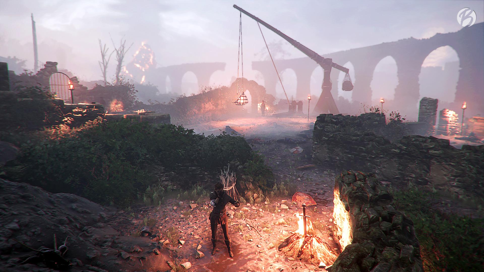 A Plague Tale: Innocence - Dark Souls Bonfire