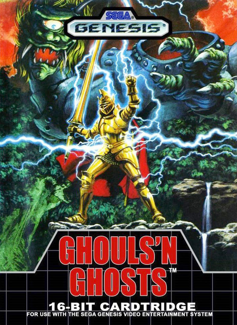 Quelle: Amazon - Ghouls 'n Ghosts (SEGA Genesis) Verpackung