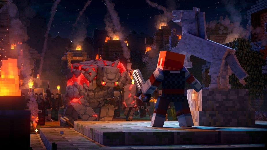 Quelle: Microsoft - Minecraft Dungeons Intro