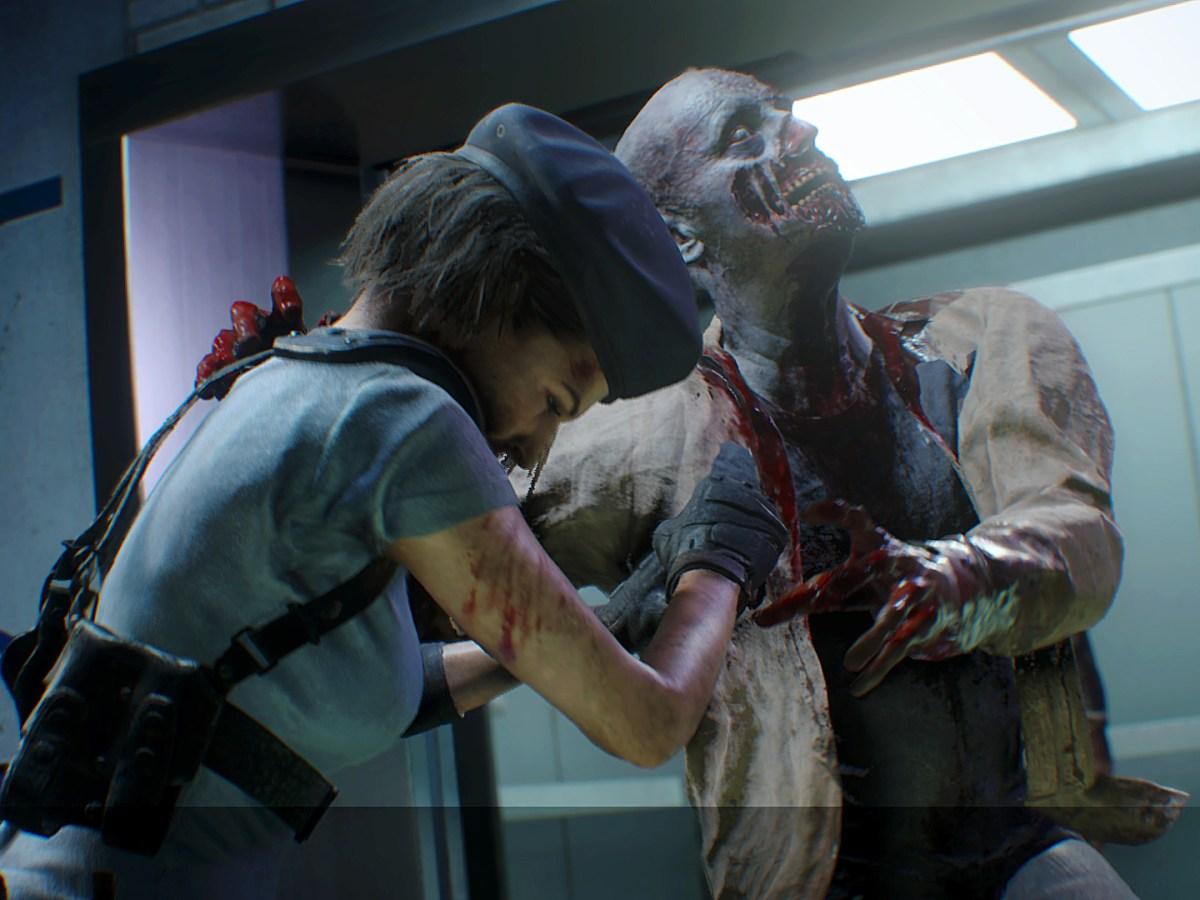 RESIDENT EVIL 3 - Achtung! Hinter jeder Tür kann ein gefräßiger Zombie lauern.