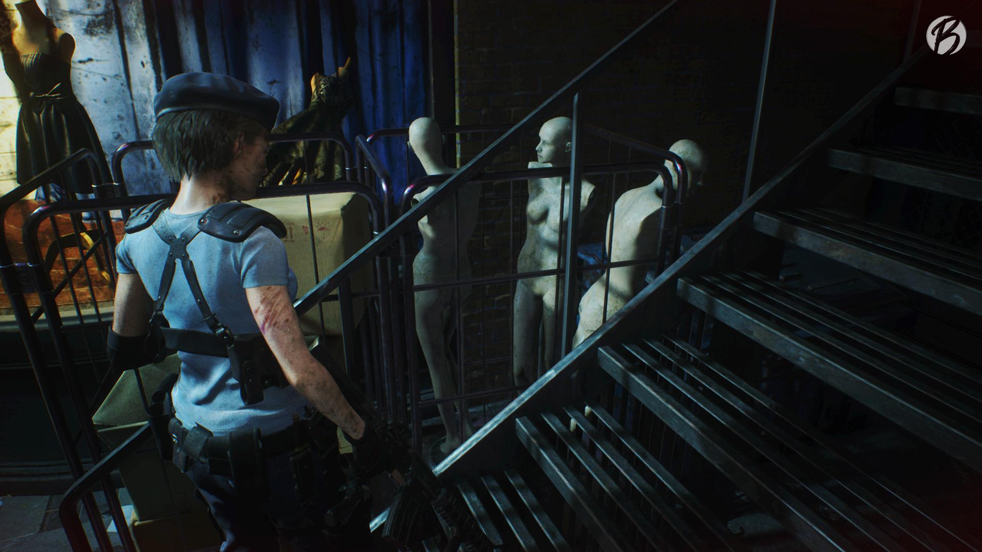 Resident Evil 3 (Remake) - Drei Schaufensterpuppen aus Resident Evil 7
