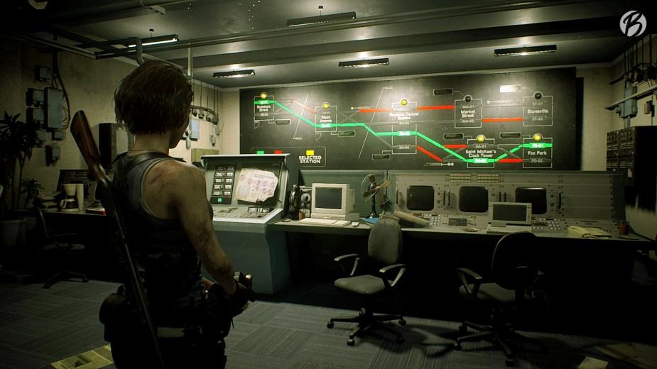 RESIDENT EVIL 3 (Remake) - Jetzt kann die U-Bahn endlich wieder weiterfahren! Ich liebe diese kleinen Rätsel.