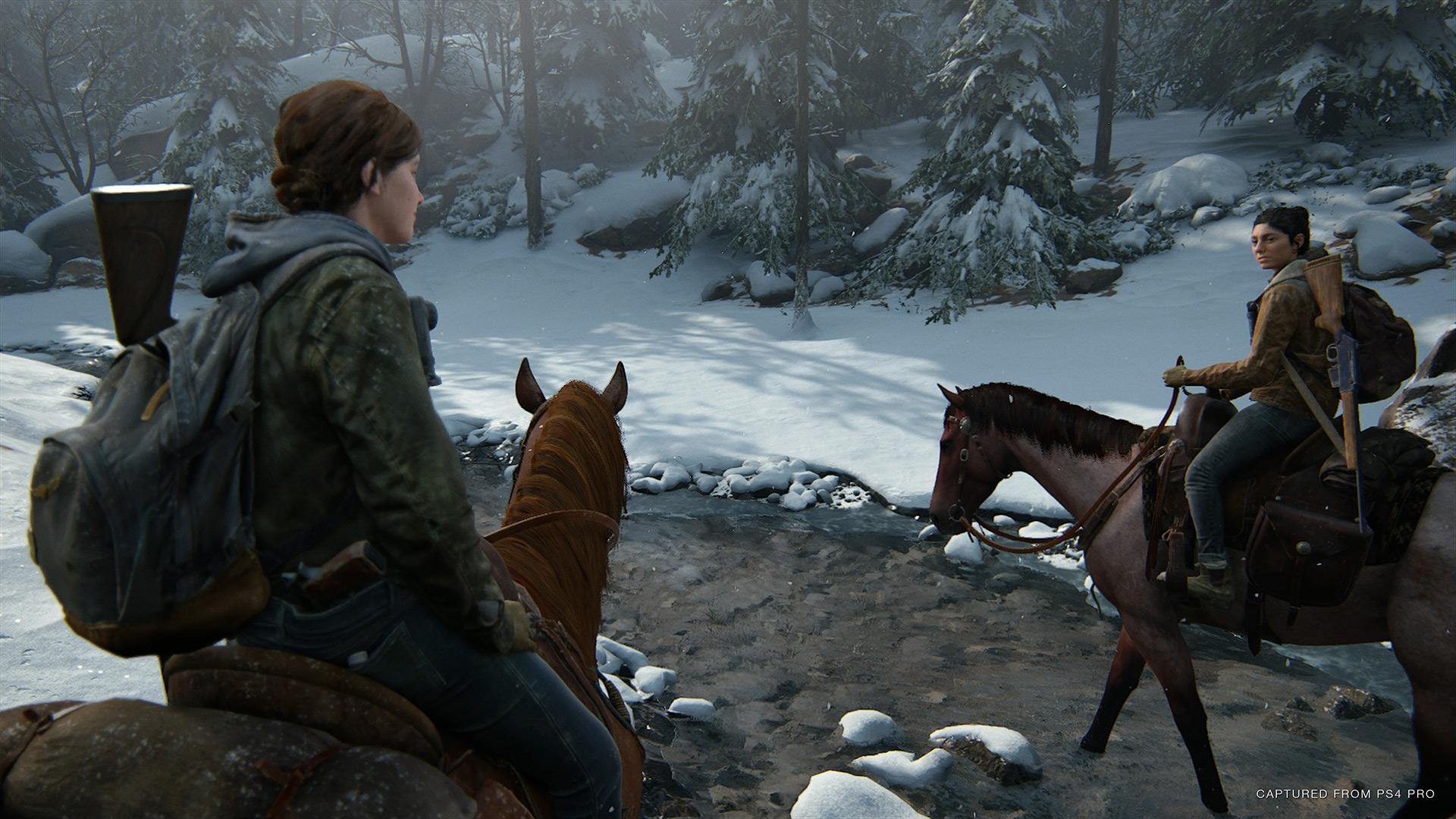 Quelle: SIE - The Last of Us Part II - Die Umgebung auskundschaften.