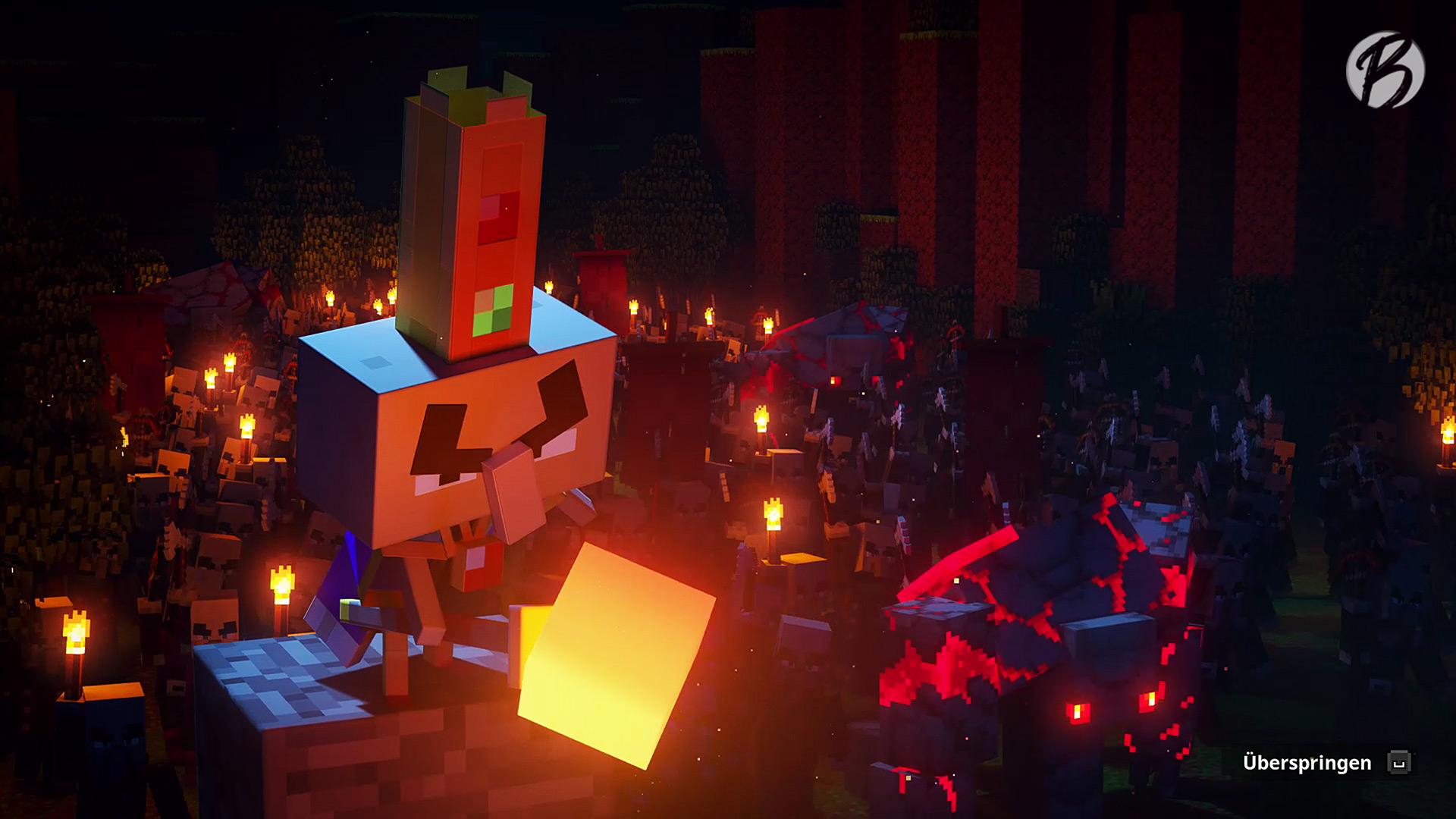 Minecraft Dungeons - Der Erz-Illager kennt keine Gnade.