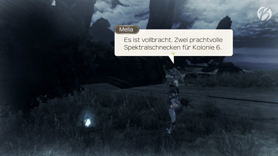 Xenoblade Chronicles: Definitive Edition - Mit Shulks Visionen lassen sich sogar Quests vervollständigen, bevor wir sie überhaupt erhalten haben.