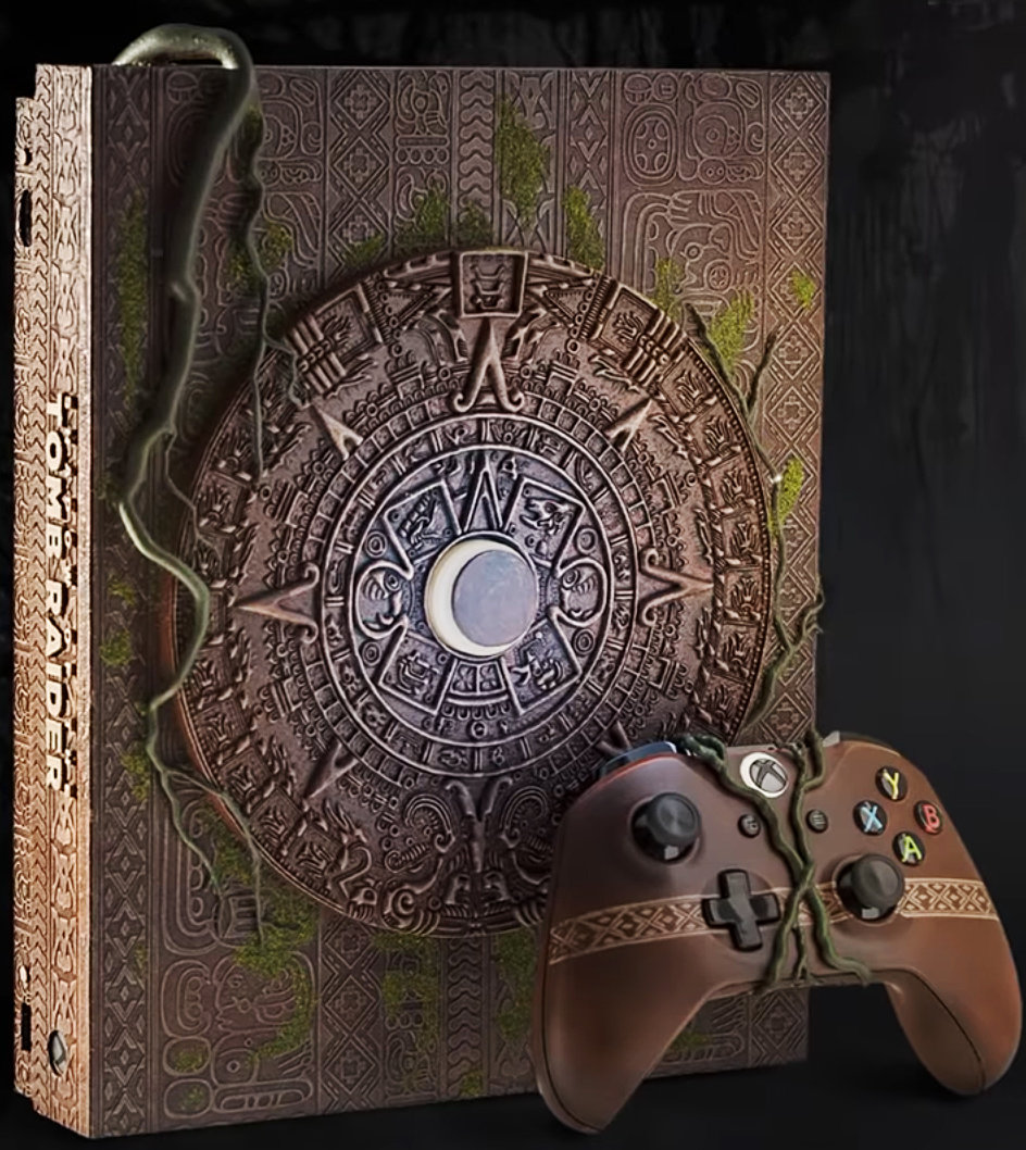 Quelle: Twitter - Xbox One X Shadow of the Tomb Raider Limited Edition