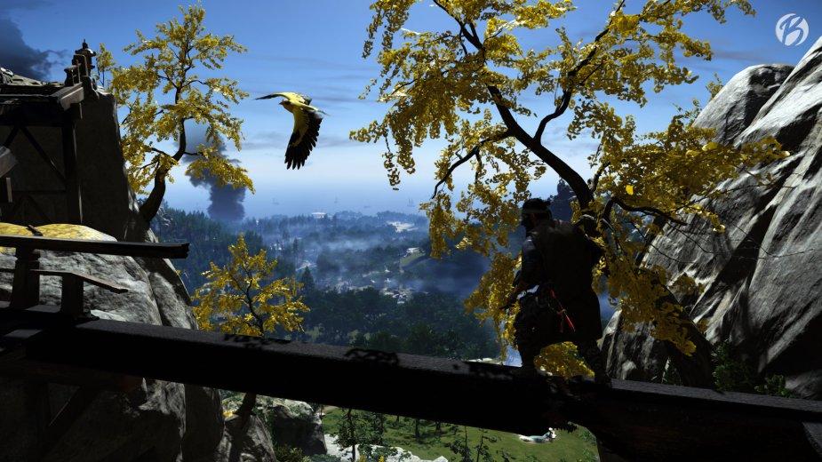 Ghost of Tsushima - Augen und Ohren auf! Gelbe Singvögel zeigen uns weitere versteckte Orte.