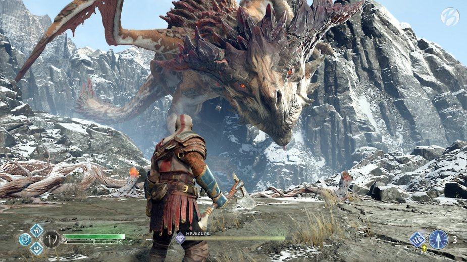God of War - Drache Hraezlyr