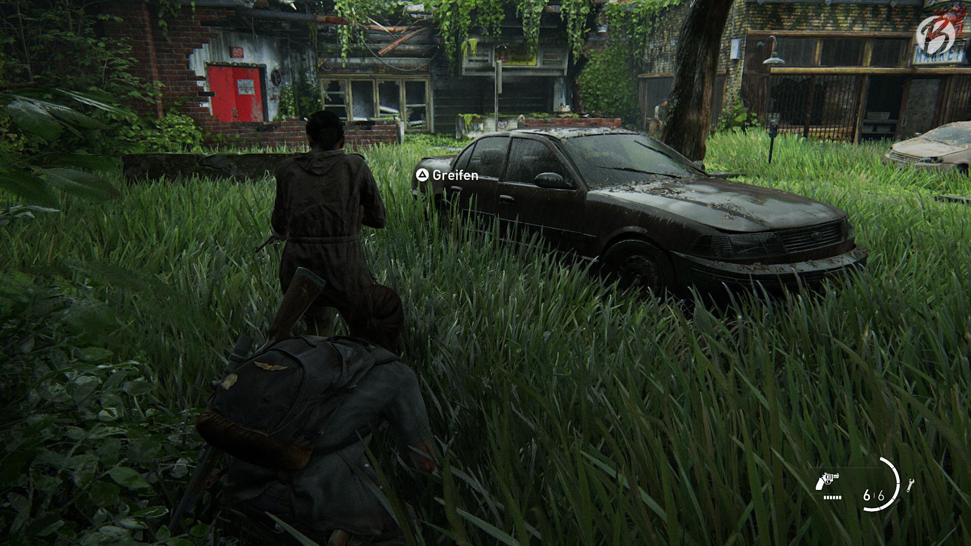 Ideale Vegetation: Das hohe Gras schaut nicht nur super aus, es erlaubt auch ein geniales Stealth-Gameplay.