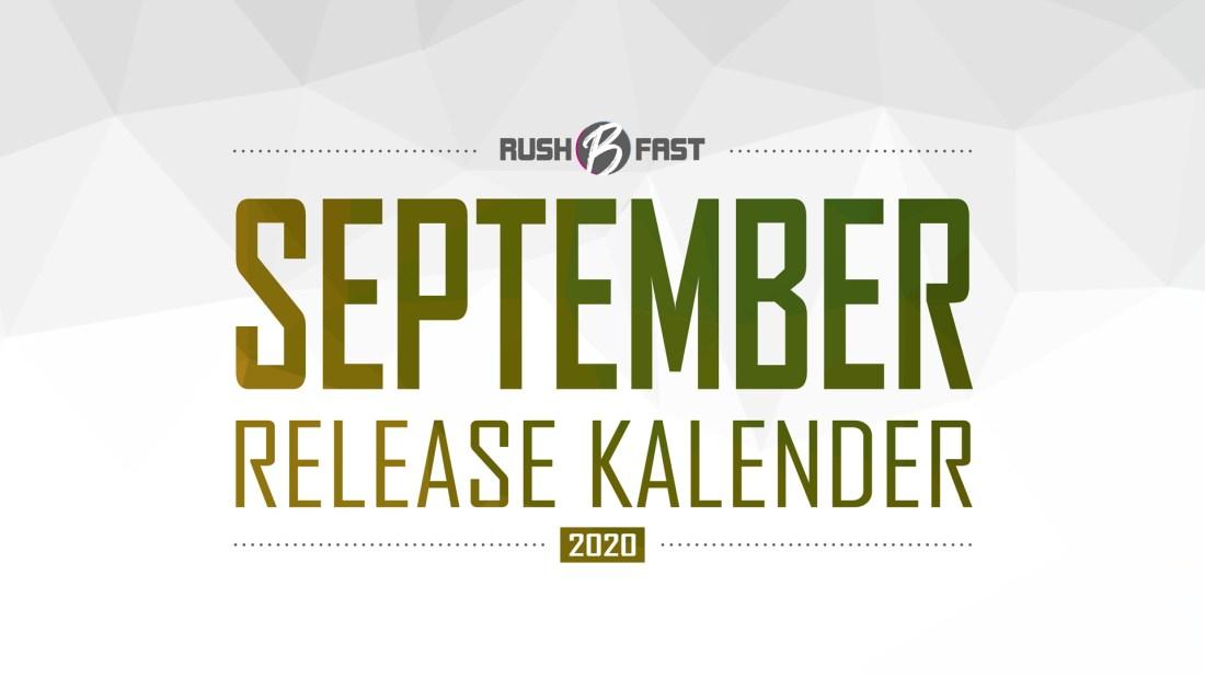rush'B'fast - Game-Release-Kalender: September 2020