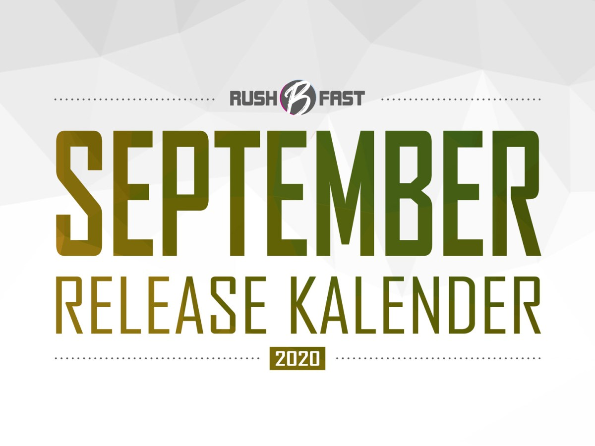 rush'B'fast - Game-Release-Kalender: September 2020