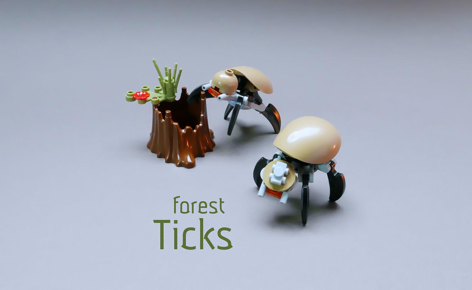 Quelle: flickr - GolPlaysWithLego - Forest Ticks