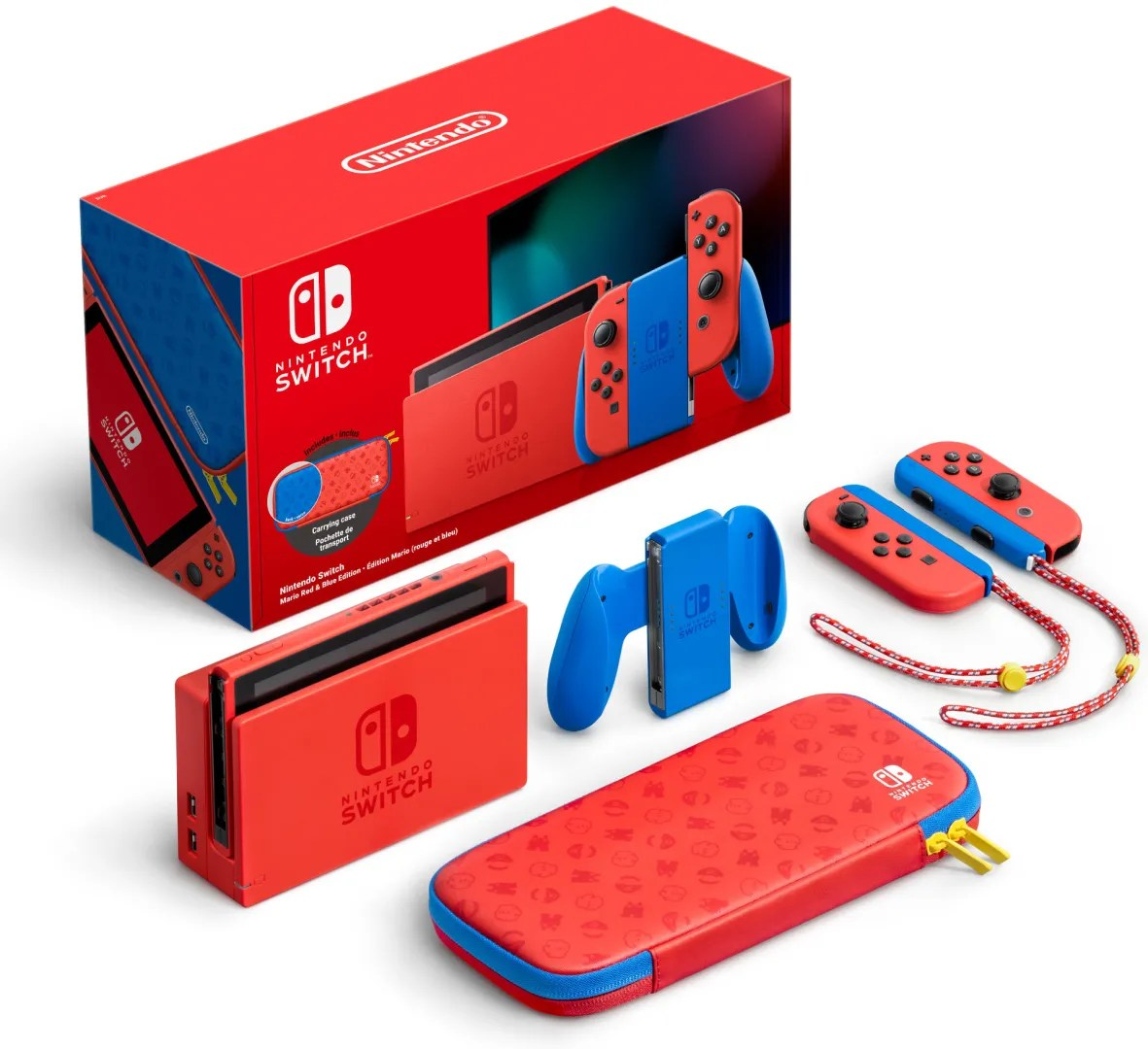 Quelle: Nintendo - Nintendo Switch Mario Edition rot & blau