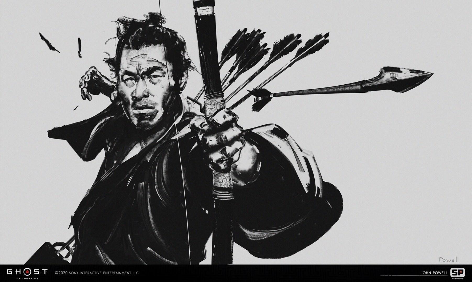 Quelle: ArtStation - John Powell- the curse of Uchitsune