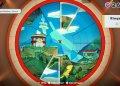 Paper Mario: The Origami King - Kampfarena umfunktioniert zum Puzzlespiel.