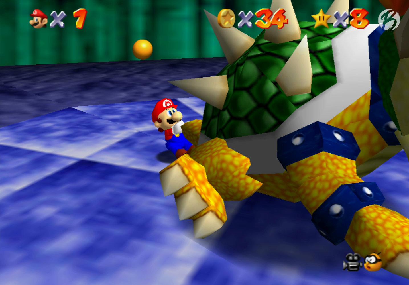 Super Mario 3D All-Stars - Super Mario 64 - Boss: Bowser